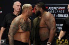 Видео боя Марк Хант — Джастин Уиллис UFC Fight Night 142