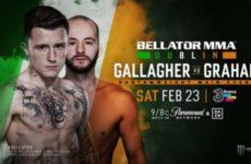 Джеймс Галлахер — Стивен Грэхэм на турнире Bellator 218