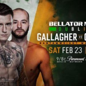 Джеймс Галлахер - Стивен Грэхэм на турнире Bellator 218