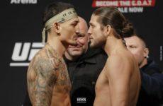 Макс Холлоуэй в драматическом поединке победил Брайана Ортегу на UFC 231