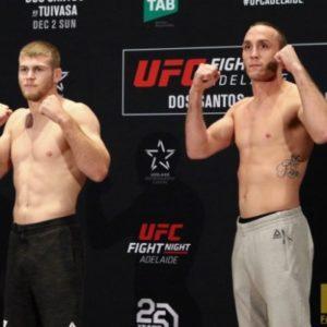 Видео боя Джейк Мэттьюс - Тони Мартин UFC Fight Night 142