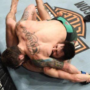 Видео боя Майкл Кьеза - Карлос Кондит UFC 232