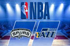 Прямая трансляция Сан-Антонио Спёрс — Юта Джаз. Баскетбол. NBA. 10.12.18