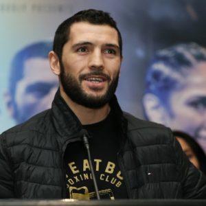 Акавов: «Я уважаю Андраде, но я намерен победить его и стать чемпионом»