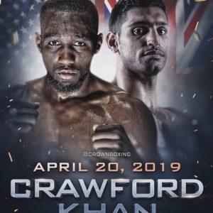 Официально: Теренс Кроуфорд и Амир Хан проведут бой 20-го апреля в США