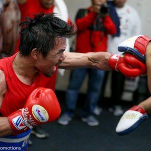 Тренер Пакьяо: «Мэнни прямо сейчас готов выйти на ринг с Бронером»