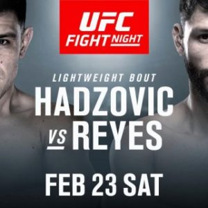 Видео боя Дамир Хадзович — Марко Поло Рейес UFC Fight Night 145