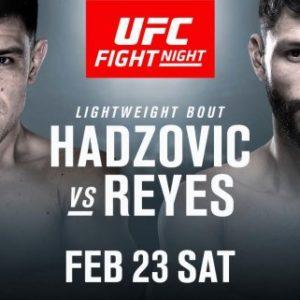 Видео боя Дамир Хадзович — Марко Поло Рейес UFC Fight Night 145