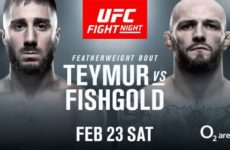 Видео боя Дэниел Теймур — Крис Фишголд UFC Fight Night 145