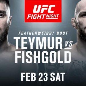 Видео боя Дэниел Теймур — Крис Фишголд UFC Fight Night 145