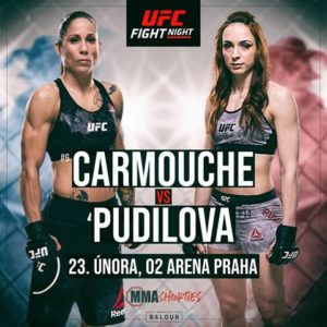 Видео боя Лиз Кармуш — Люси Пудилова UFC Fight Night 145