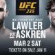 Видео боя Робби Лоулер — Бен Аскрен UFC 235