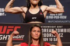 Видео боя Полиана Виана — Ханна Сайферс UFC 235