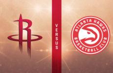 Прямая трансляция Атланта Хоукс — Хьюстон Рокетс. NBA. 09.01.20