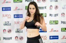Видео боя Вероника Маседо — Джиллиан Робертсон UFC Fight Night 145