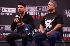 Тренер Гарсии: «У Майки есть навыки и сила, чтобы победить Спенса»