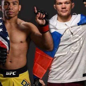 Результаты взвешивания участников турнира UFC Fight Night 145: Петр Ян - Джон Додсон