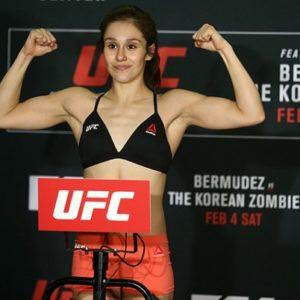 Видео боя Джессика Агулиар — Марина Родригес UFC on ESPN 2