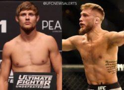 Видео боя Брюс Митчелл — Бобби Моффетт UFC Fight Night 148