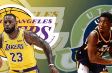 Прямая трансляция Юта Джаз — Лос-Анджелес Лейкерс. NBA. 28.03.19