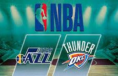 Юта Джаз — Оклахома-Сити Тандерс. Баскетбол. NBA. 12.03.19