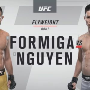 Видео боя Жуссьер Формига — Дейвезон Фигередо UFC Fight Night 148