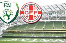 Прямая трансляция Ирландия — Грузия. Квалификация Чемпионата Европы. 26.03.19