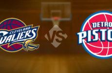 Прямая трансляция Детройт Пистонс — Кливленд Кавальерс. NBA. 12.10.19
