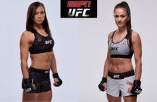 Видео боя Каролина Ковалькевич — Мишель Уотерсон UFC on ESPN 2