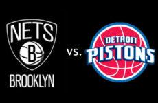 Прямая трансляция Детройт Пистонс — Бруклин Нетс. NBA. 26.01.20