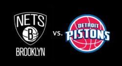 Бруклин Нетс - Детройт Пистонс. Прямая трансляция. NBA. 12.03.19