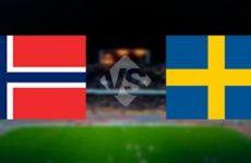 Прямая трансляция Норвегия — Швеция. Квалификация Чемпионата Европы. 26.03.19