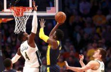 Прямая трансляция Индиана Пайсерз — Денвер Наггетс. NBA. 25.03.19