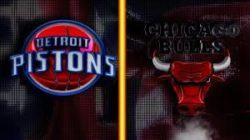 Прямая трансляция Детройт Пистонс - Чикаго Буллз. NBA. 22.12.19
