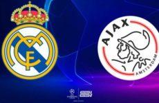 Реал Мадрид — Аякс. Прямая трансляция. Лига Чемпионов. 05.03.19