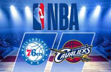 Прямая трансляция Кливленд Кавальерс — Филадельфия Сиксерз. NBA. 17.11.19