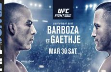 Видео боя Эдсон Барбоза — Джастин Гэтжи UFC on ESPN 2