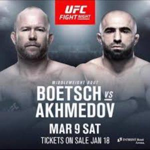 UFC Fight Night 146: Омари Ахмедов побеждает Тима Ботча решением судей