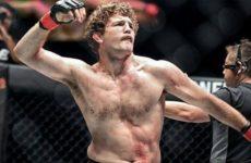 Бен Аскрен поделился негативными впечатлениями перед дебютом в UFC