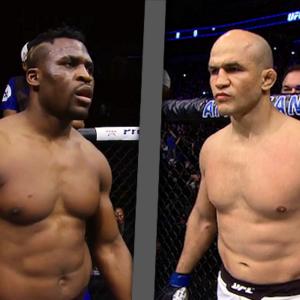 Джуниор Дос Сантос и Фрэнсис Нганну проведут бой на UFC 239
