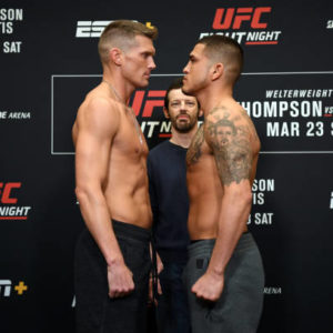 Гонорары и бонусы участников турнира UFC Fight Night 148: Петтис — Томпсон