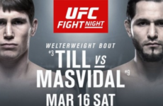 Видео боя Даррен Тилл — Хорхе Масвидаль UFC Fight Night 147
