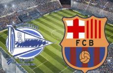 Прямая трансляция Алавес — Барселона. Ла Лига. 23.04.19