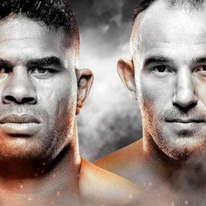 Видео боя Алистар Оверим — Алексей Олейник UFC Fight Night 149