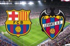 Прямая трансляция Барселона — Леванте. Ла Лига. 27.04.19