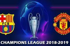 Прямая трансляция Барселона — Манчестер Юнайтед. Лига Чемпионов. 16.04.19