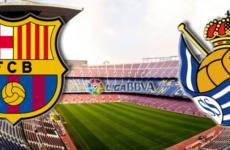 Прямая трансляция Барселона — Реал Сосьедад. Ла Лига. 20.04.19