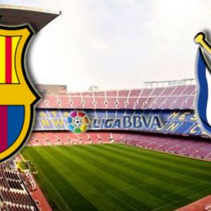 Прямая трансляция Барселона - Реал Сосьедад. Ла Лига. 20.04.19