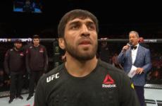 Магомед Мустафаев победил Рафаэля Физиева на турнире UFC Fight Night 149
