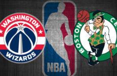 Видео. Лучшие моменты Вашингтон Визардс — Бостон Селтикс. NBA. 07.01.20
